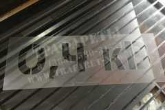 Трафареты знаков электробезопасности для ТП, РП, ПЭТ, лазерный рез