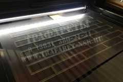 Трафарет Кирпичная кладка 1050 мм х 610 мм(увеличенный), ПЭТ 2 мм, Акрил 2 мм, лазерный рез