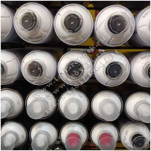 Краска для нанесения разметки, обозначений и рекламы через трафареты