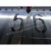 Процесс резки трафаретов из пластика на станке лазерной резки. Трафареты цифр порядковых номеров на Путевом пикетном знаке. Трафареты цифр порядковых номеров на Путевом пикетном знаке, в соответствии с распоряжением 1384 ОАО РЖД. Режем трафареты за один час! Изготовление БОЛЬШИХ и ОЧЕНЬ БОЛЬШИХ ТРАФАРЕТОВ!