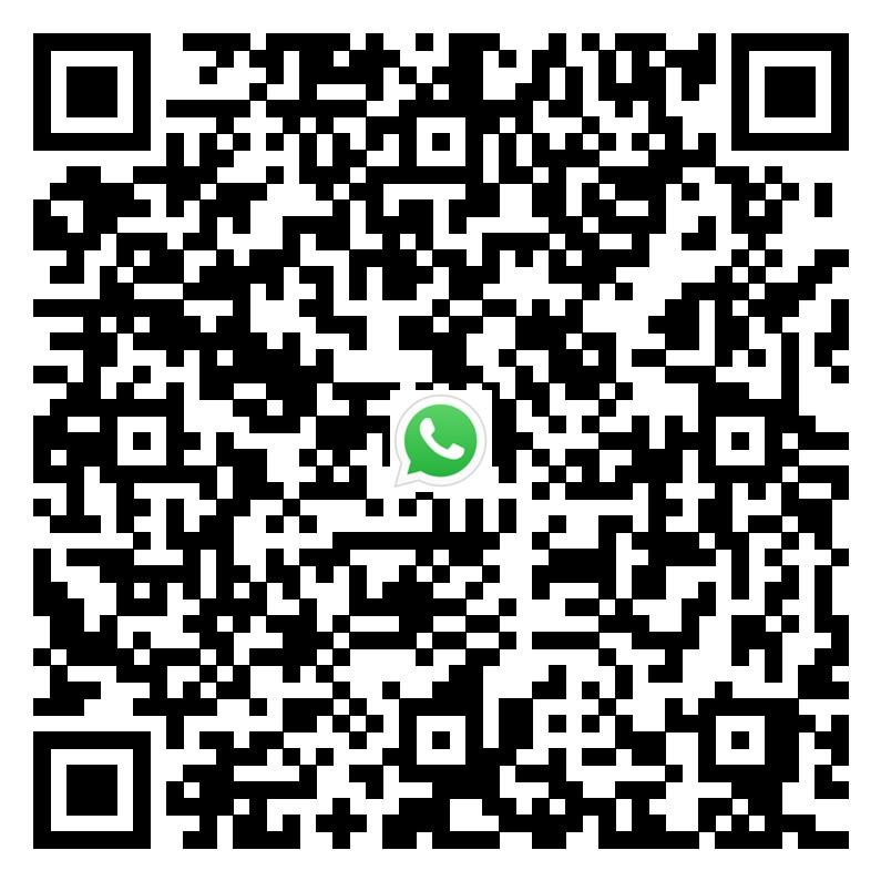 Сканируйте это код что бы перейти в диалог WhatsApp