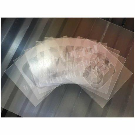 Трафарет Цифры, 150 мм, ПЭТ, лазерный рез, набор цифр