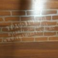 Трафарет декоративный камень, трафарет под штукатурку стен, ПЭТ 2 мм, Акрил 2 мм, лазерный рез 1