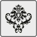 Трафарет для декора мебели и предметов интерьера