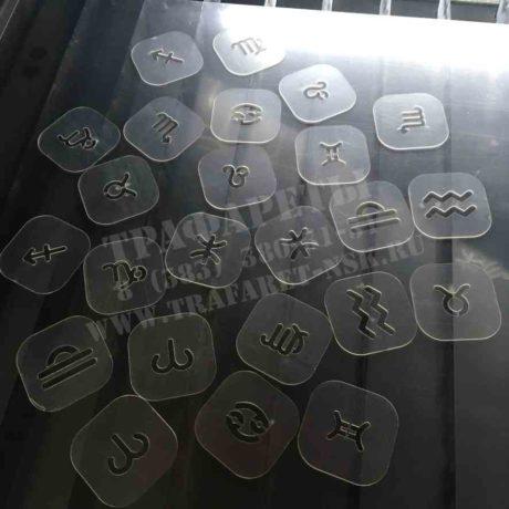 Трафарет знаки зодиака. Пластиковые многоразовые трафареты для ваших творческих задач